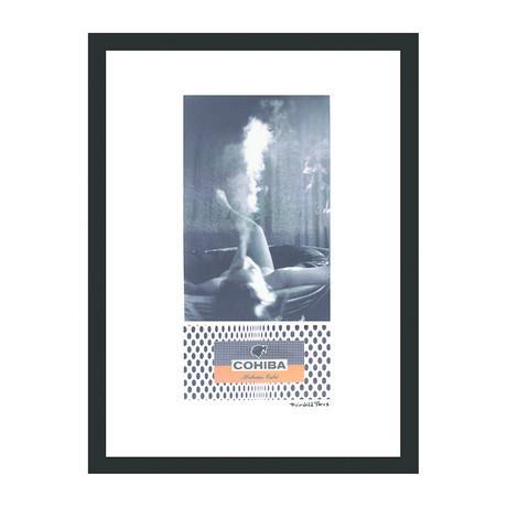 "Cohiba Cigar Print // Smoke Bath (12""W x 16""H x 2""D)"