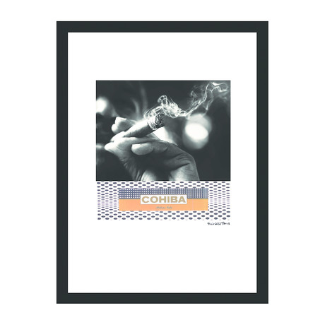 "Cohiba Cigar Print // Good Grip (12""W x 16""H x 2""D)"