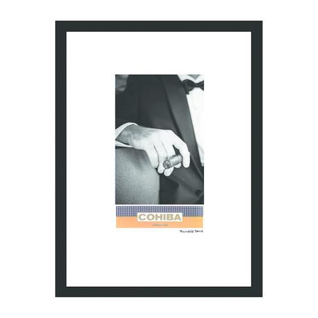 """Cohiba Cigar Print // Luxe Life (12""""W x 16""""H x 2""""D)"""