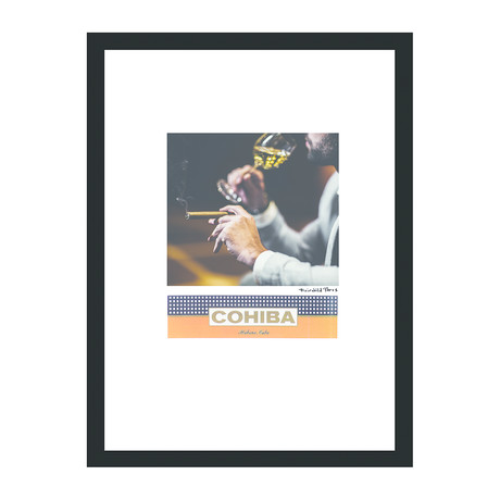 """Cohiba Cigar Print // Pairing (12""""W x 16""""H x 2""""D)"""