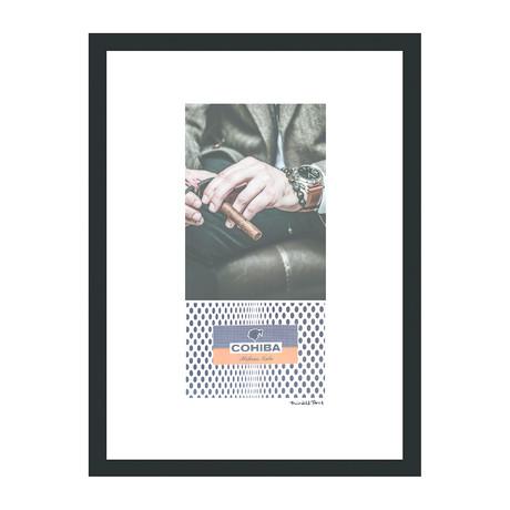 "Cohiba Cigar Print // Classic Man I (12""W x 16""H x 2""D)"