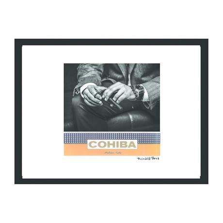 "Cohiba Cigar Print // Classic Man II (16""W x 12""H x 2""D)"