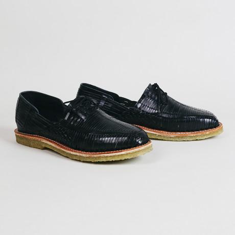 Benito Natural Leather Shoe // Black (US: 9)