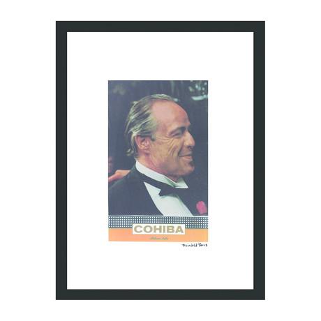 """Cohiba Cigar Print // Brando (12""""W x 16""""H x 2""""D)"""