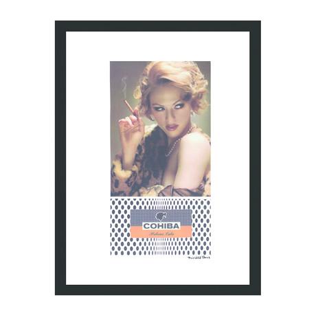 """Cohiba Cigar Print // Testa Rossa (12""""W x 16""""H x 2""""D)"""