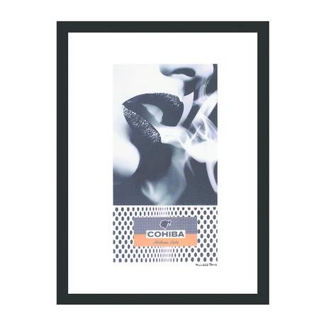 "Cohiba Cigar Print // Smoke Whisper (12""W x 16""H x 2""D)"