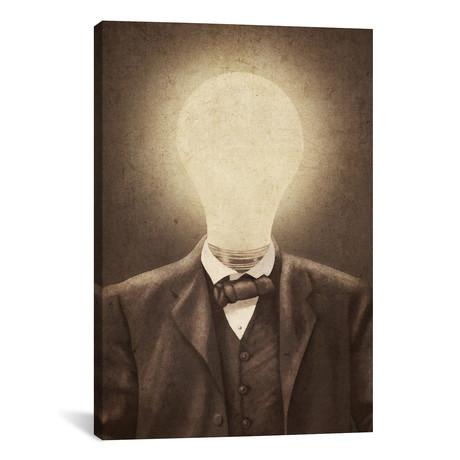 """The Idea Man // Terry Fan (18""""W x 26""""H x 0.75""""D)"""