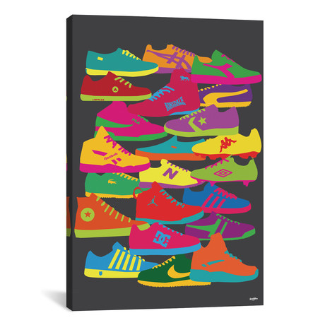 """Sneakers // Yoni Alter (18""""W x 26""""H x 0.75""""D)"""