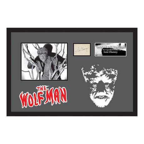 The Wolf Man // Lon Chaney Jr.