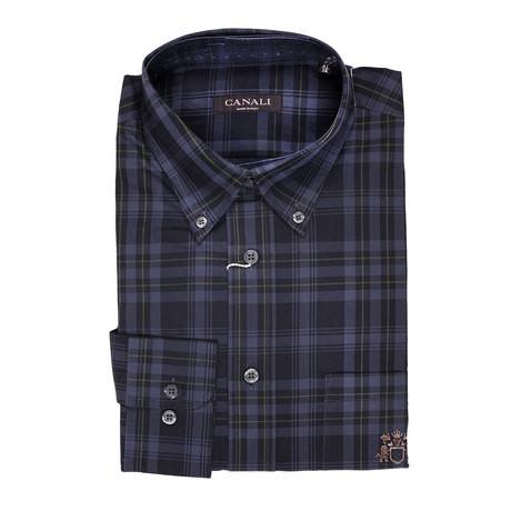Plaid Regular Fit Shirt // Multi (Euro: 39)