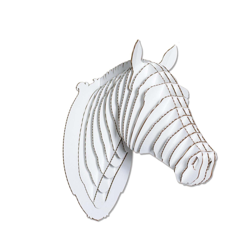 Pippin Cardboard Horse Head Large Cardboard Safari Touch Of Modern