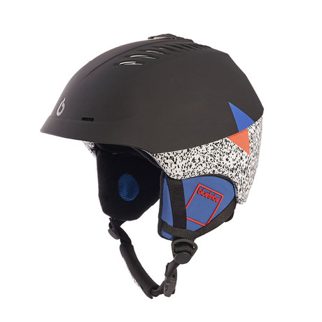 Hybrid Helmet // Black + Multicolor (M/L)