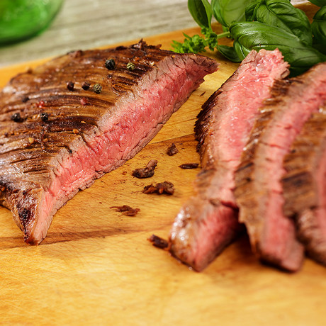 Natural Prime Flank Steaks // 4 Pieces