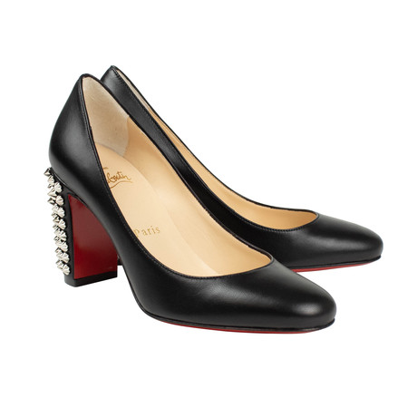 Women's Leather Marimalus 85mm Pumps // Black (Euro: 35)