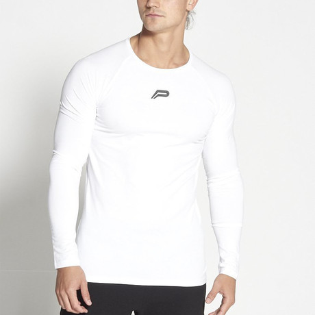 Icon Long-Sleeved Fit // White (L)
