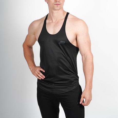 Mesh Back Stringer Vest // Black (L)
