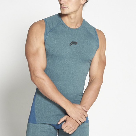 Compression Tank // Teal (M)