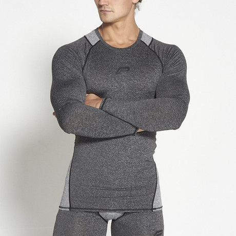 Compression Long-Sleeve // Shadow Gray (S)