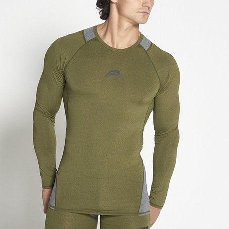 Compression Long-Sleeve // Khaki (M)