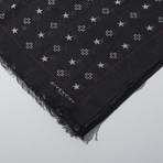 Givenchy // Patterned Scarf // Black