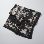 Flowers Scarf // Black I