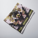 Givenchy // Floral Pattern Scarf // Pink