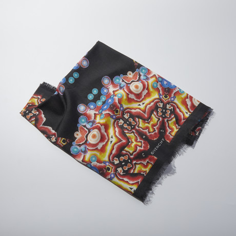 Givenchy // Abstract Scarf // Black