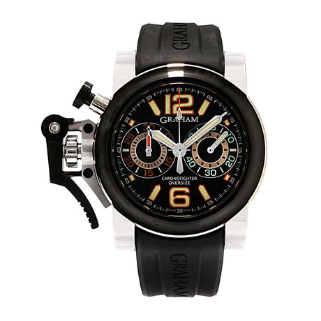 Graham Chronofighter Oversize Night Ranger Automatic // 2OVAV.B13A // Store Display