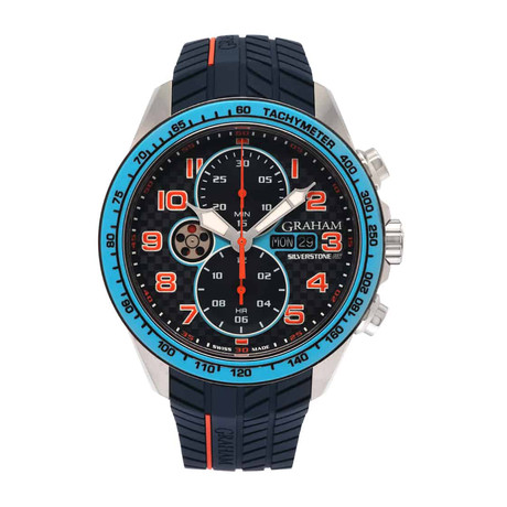 Graham Silverstone RS Racing Chronograph Automatic // 2STEA.U05A // Store Display