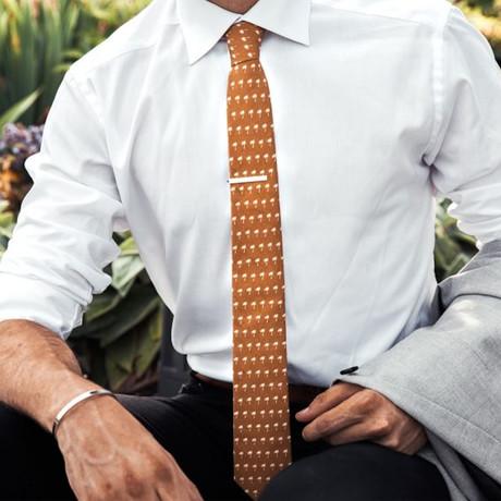Palm Down Tie // Orange