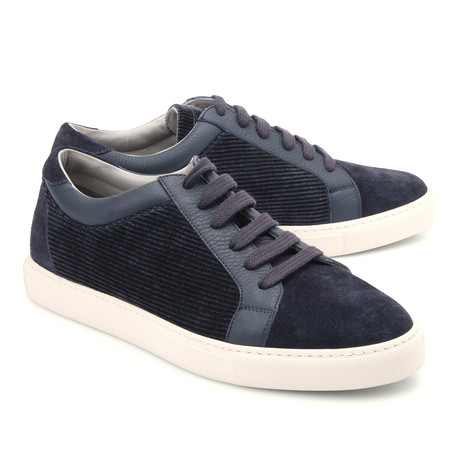 Fashion Sneakers // Navy (Euro: 39)