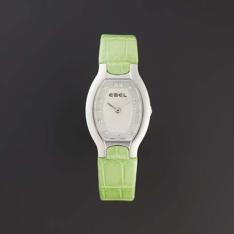 Ebel Ladies Beluga Tonneau Quartz // 1216206 // Store Display