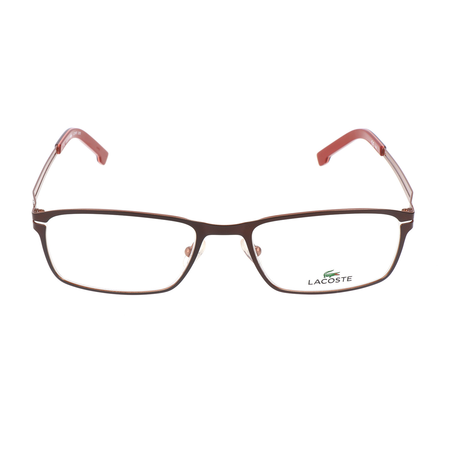 b540f18bae29 Men s L2167 Optical Frames    Satin Brown - Lacoste - Touch of Modern