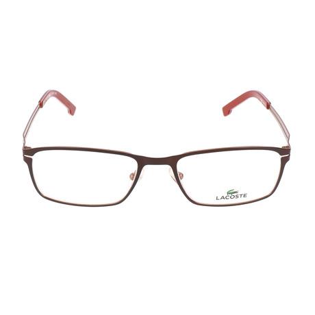 Men's L2167 Optical Frames // Satin Brown