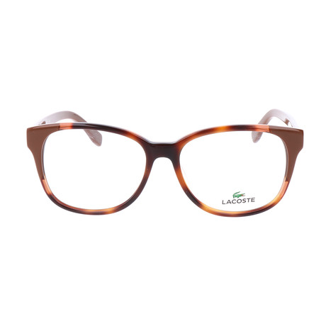 Women's L2738 Optical Frames // Havana