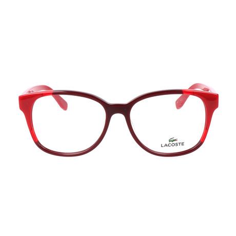 Women's L2738 Optical Frames // Red