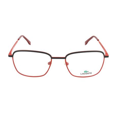 Men's L2222 Optical Frames // Matte Red