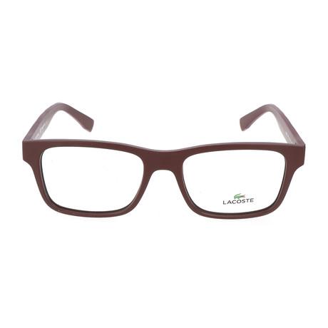 Unisex L2793 Optical Frames // Matte Burgundy