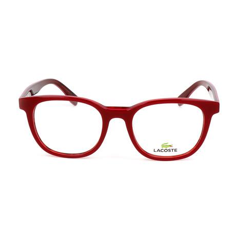Women's L2809 Optical Frames // Red