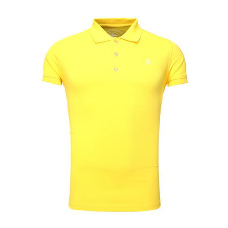 Summary Polo T-Shirt // Yellow (S)