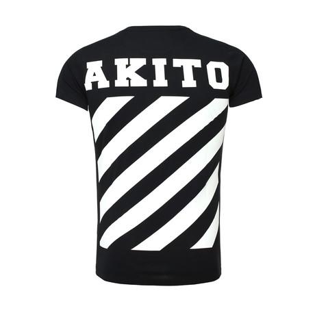 Stripe T-Shirt // Black (S)