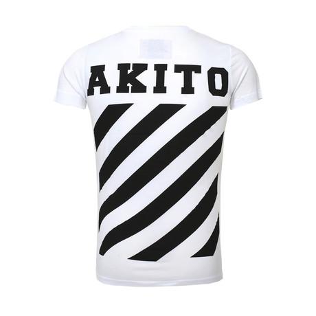 Stripe T-Shirt // White (S)