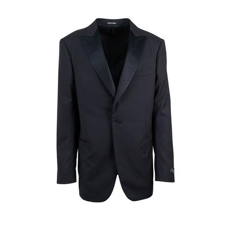 Pal Zileri // Wool Tuxedo Suit // Black (Euro: 48)