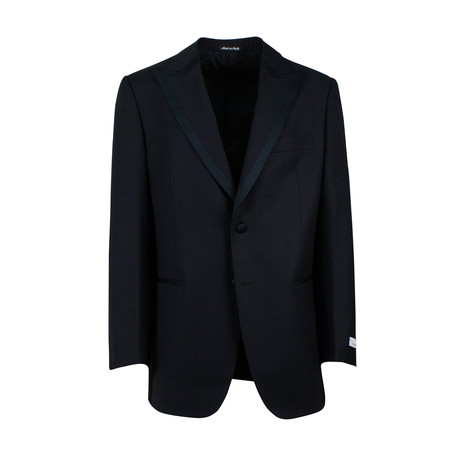 Pal Zileri // Wool Two Button Tuxedo // Black (Euro: 48)