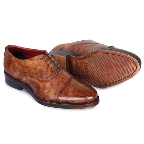Captoe Oxford Classic Dress Shoes // Brown (US: 8)