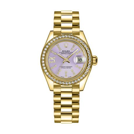 Rolex Datejust Automatic // 279138RBR-LILRDP // New