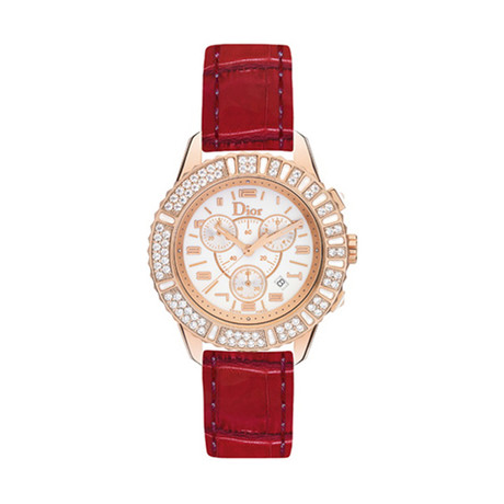 Christian Dior Chronograph Quartz // CD114370A004 // New