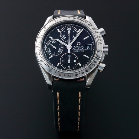 Omega Speedmaster Date Chronograph Automatic // 35138 // Pre-Owned