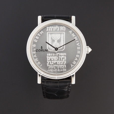 Corum Heritage Artisans Coin Automatic // 082.647.01/0001 IS01 // New
