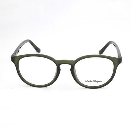 Men's SF2724 Optical Frames // Matte Green